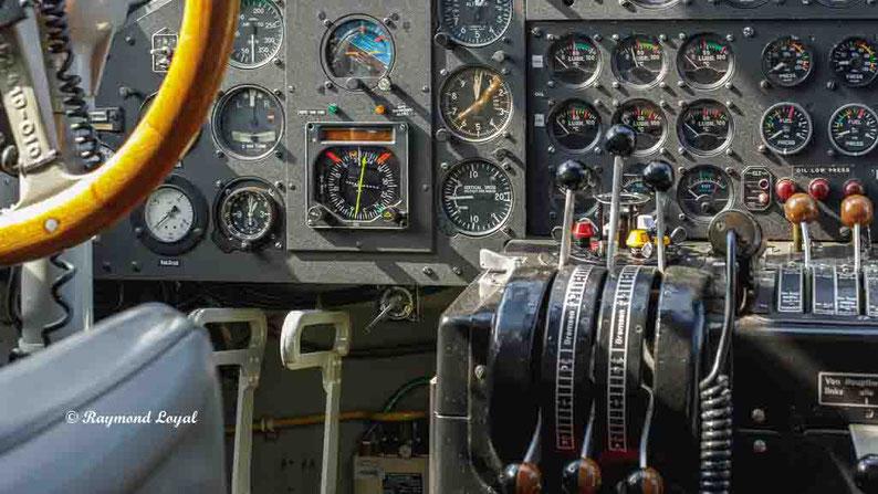 cockpit junkers ju52