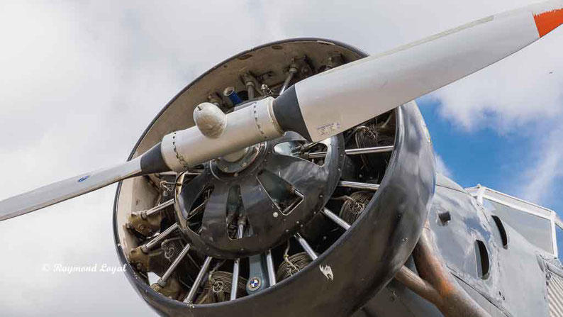 flugzeug junkers ju 52 sternmotor
