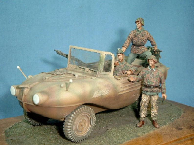 Trippel Schwimmwagen Deutsche Wehrmacht