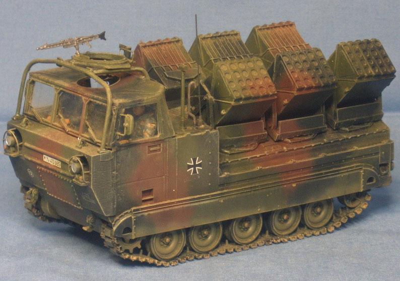 Minenwurfsystem Skorpion auf M548 A1G der Bundeswehr
