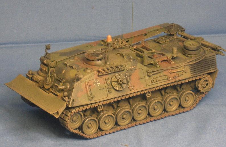 Bergepanzer 2 A2 der Bundeswehr