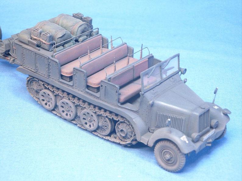Sd.Kfz. 6 5t Zugmaschine Artillerieversion Deutsche Wehrmacht