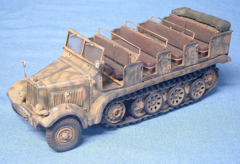 Sd.Kfz. 6 5t Zugmaschine Pionierversion Deutsche Wehrmacht