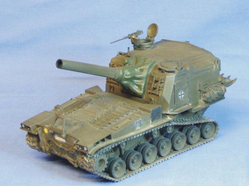 Schwere Panzerhaubitze 203mm M55 der Bundeswehr