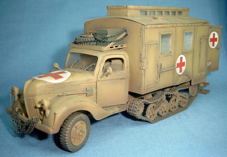 Ford Maultier 3t Sanitätsausführung Deutsche Wehrmacht