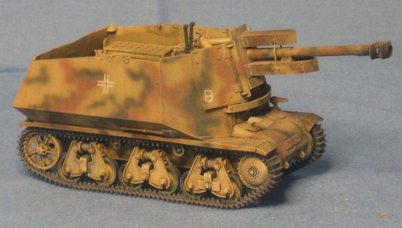 Panzerhaubitze 10,5cm LFH 18 auf Hotchkiss H39 Schnelle Brigade West 21. Panzerdivision Deutsche Wehrmacht
