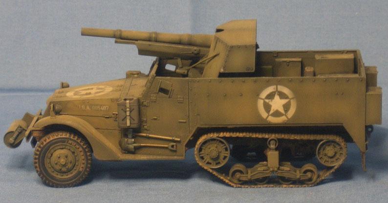 M3 Schützenpanzer 75mm GMC der US Streitkräfte Weltkrieg worldwar