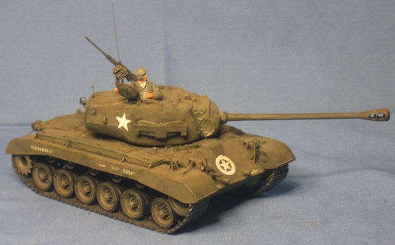 Kampfpanzer M26 Pershing der US Armee Weltkrieg worldwar