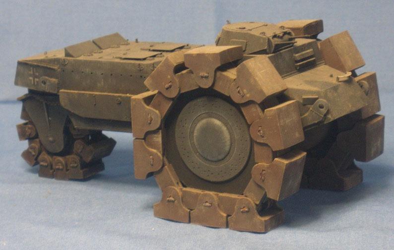 Alkett Minenräumer Prototyp Vs.Kfz. 617 Deutsche Wehrmacht