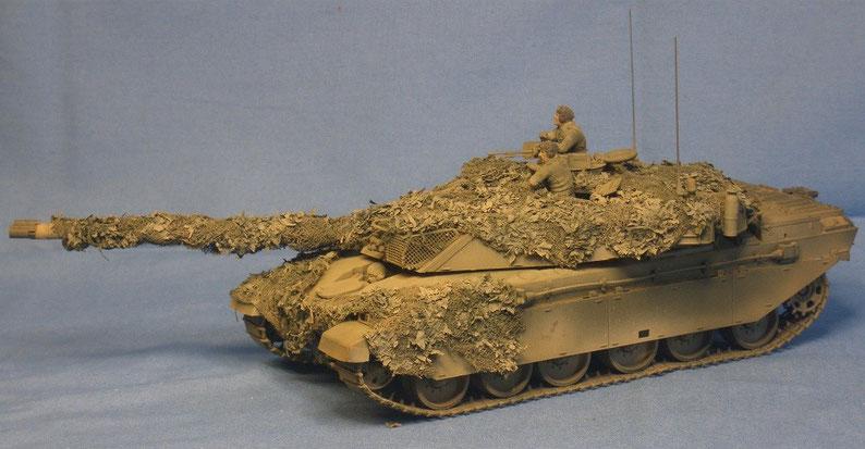 Kampfpanzer Challenger 1 der Britischen Armee