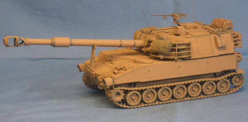 Panzerhaubitze M109 A5 der US Armee, US Army