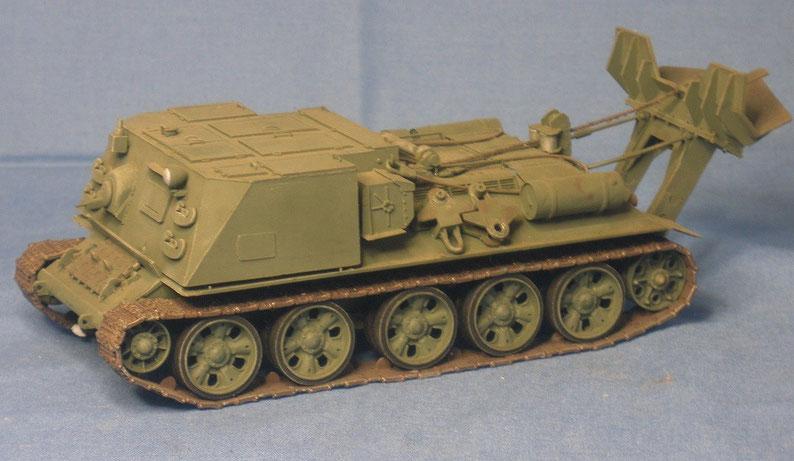Bergepanzer T-34 des Warschauer Pakts