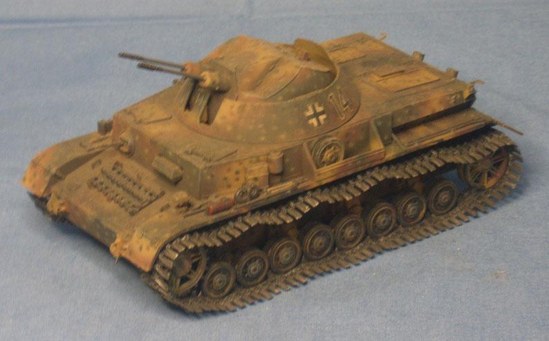 Flakpanzer IV Kugelblitz mit zwei 3cm Kanonen MK 103/38 Deutsche Wehrmacht
