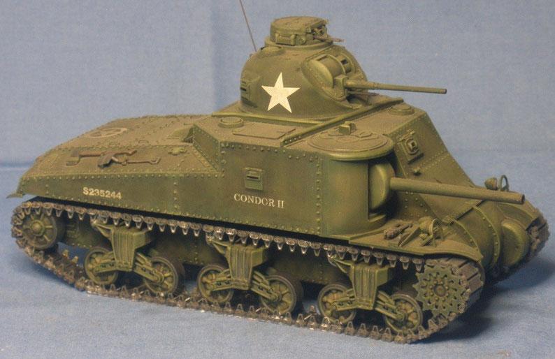 Kampfpanzer M3 A4 General Lee mit 75mm Kanone M3 der Britischen Armee Weltkrieg worldwar