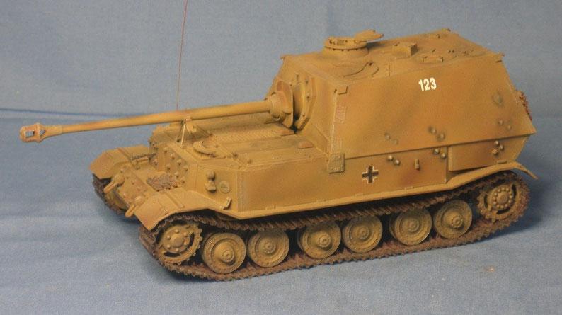Schwerer Jagdpanzer Elefant Deutsche Wehrmacht