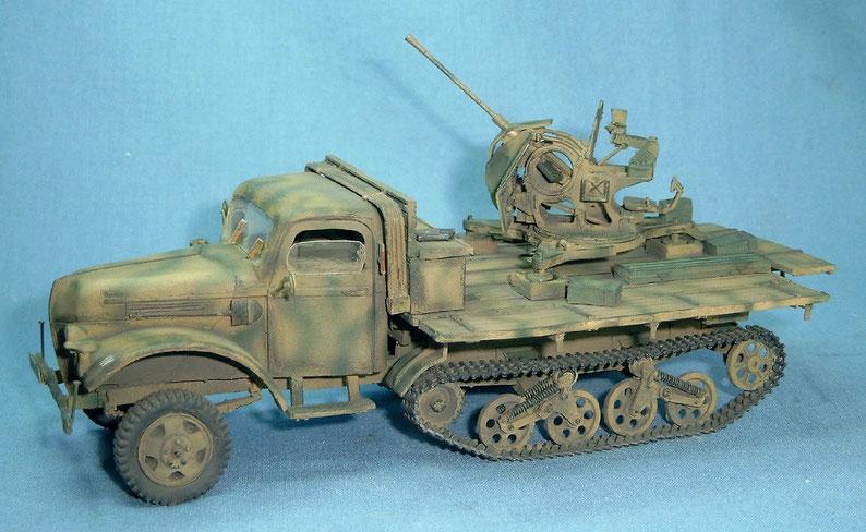Ford Maultier 3t mit 2cm Flak 38 Deutsche Wehrmacht