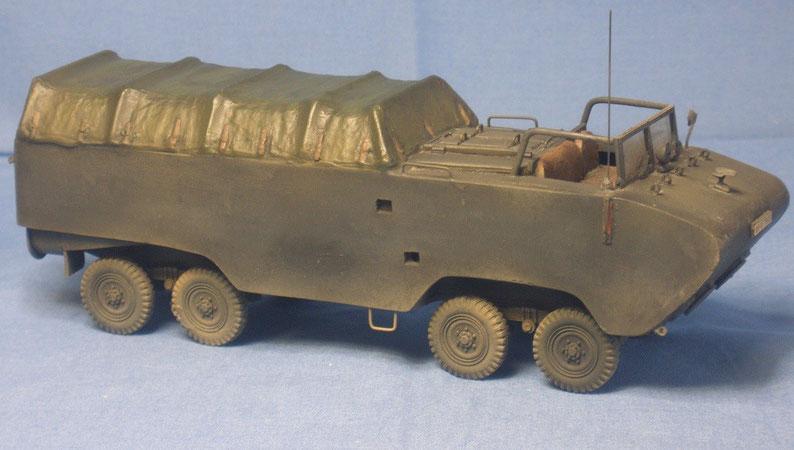 Einheitsdiesel 8x8 Amphibienfahrzeug Deutsche Wehrmacht