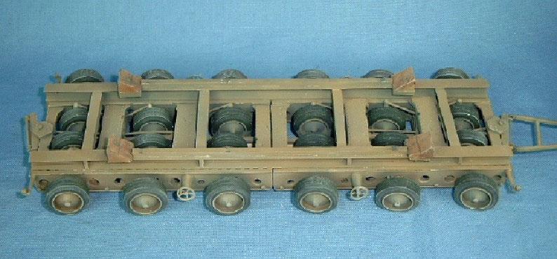 Schwerlastfahrzeug 80t Culemeyer Modell 1935 Deutsche Wehrmacht Reichsbahn