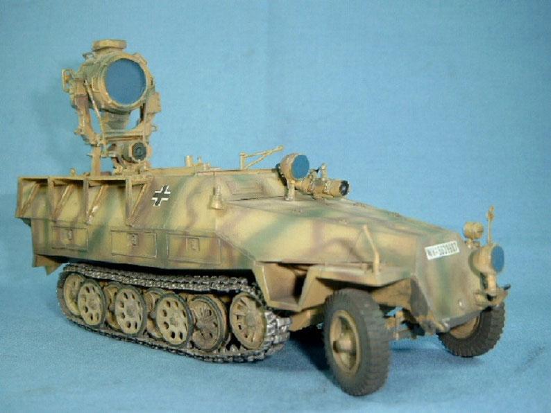 Sd.Kfz. 251/20 Infrarotscheinwerfer Uhu Deutsche Wehrmacht