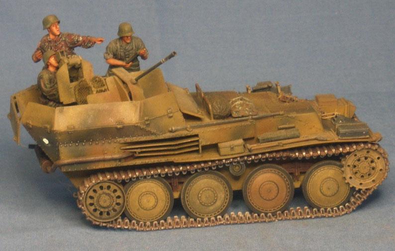 Sd.Kfz. 140 Flakpanzer 38 (t) Deutsche Wehrmacht