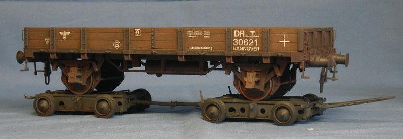 Schwerlastfahrzeug 60t Culemeyer Deutsche Wehrmacht Reichsbahn