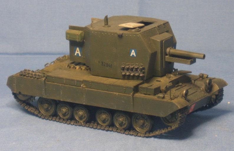 Panzerhaubitze Bishop mit 25pdr auf Valentine Der Britischen Armee Weltkrieg Worldwar
