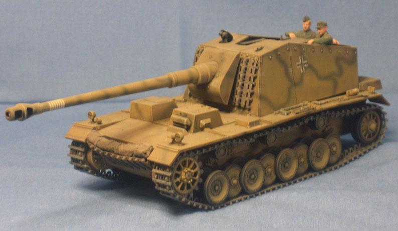 Schwere Pakselbstfahrlafette Sturer Emil Panzerjäger Deutsche Wehrmacht