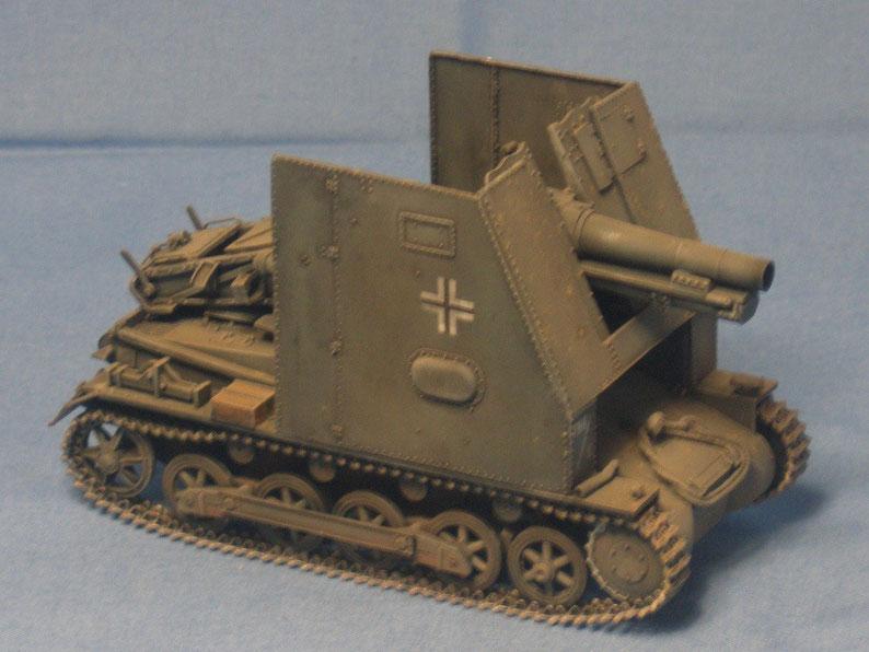 Bison I SIG 33 auf Panzer I Deutsche Wehrmacht