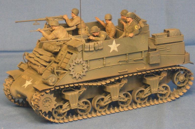 Beobachtungspanzer Sherman Kangaroo der US Armee Weltkrieg worldwar