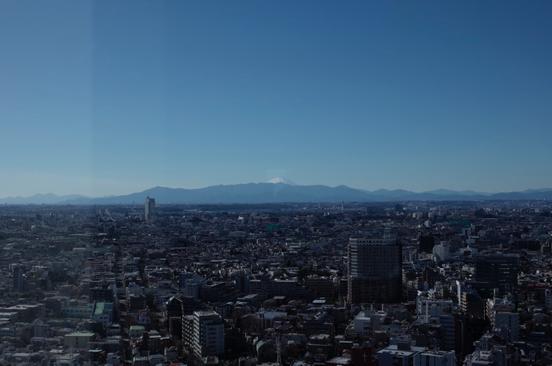 フィルムカメラのPENTAX MZ-3で撮影した富士山