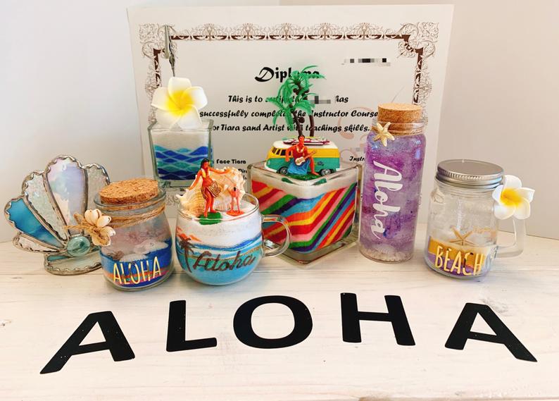 aloha sand art & more  アロハサンドアート&モア ハワイ