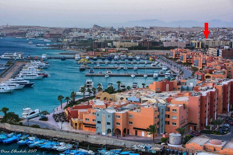 www.apartmentsinhurghada.com - Sheraton Plaza Hurghada - Located very close to the Hurghada New Marina