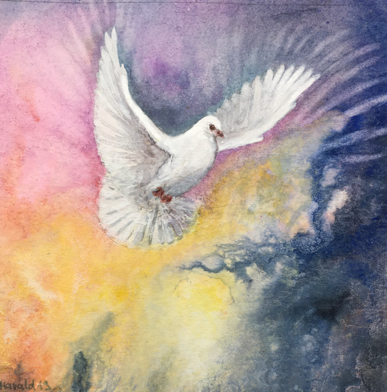 Come Holy Spirit  / Art by Harald Wirkner