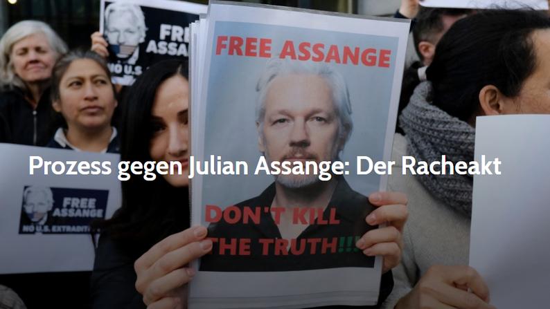 16. Oktober 2020 - NachDenkSeiten: Prozess gegen Julian Assange; Der Racheakt