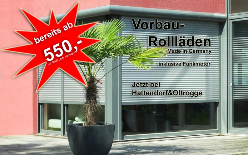 Rollladen, Raffstore, Markisen, Jalousien, Rollos, Smart-Homes von Hattendorf&Oltrogge Hannover