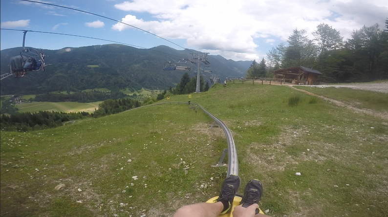 Summer Adventure Activities in Slovenia - Sledding in Kranjska Gora