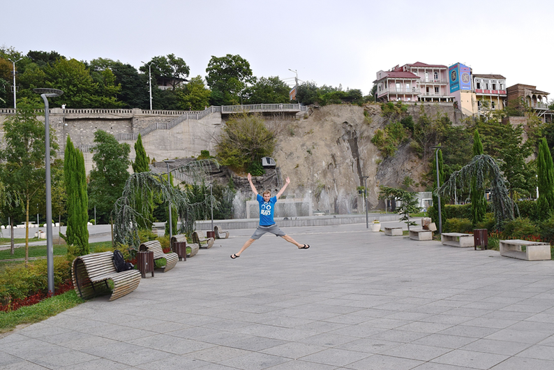 How to Spend Time in Tbilisi - Relax at Rike Park