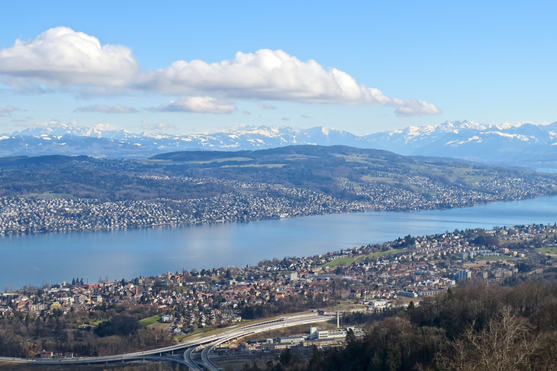 Top Panoramic Views in Switzerland - Uetliberg