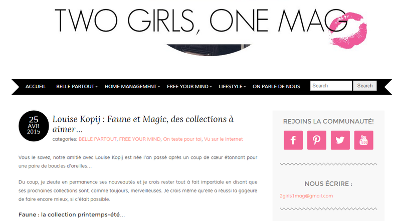2 girls 1 mag || avril 2015 || http://www.2girls1mag.com/louise-kopij-faune-et-magic-des-collections-a-aimer/