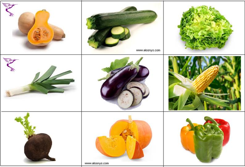 Jeu pédagogique : Fruits et légumes à faire découvrir à vos enfants (3/8)