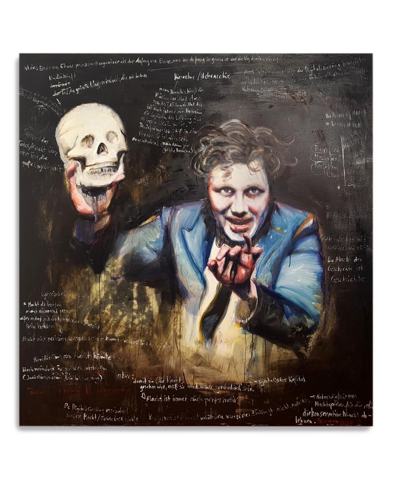 Macht Hierarchie Ölmalerei Kunst Soziologie Philosophie