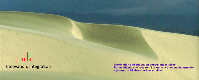 Information and education services for academic and research libraries and networks.