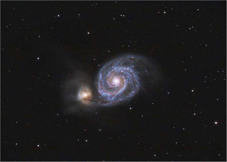 Bild: Whirlpool Galaxie M51