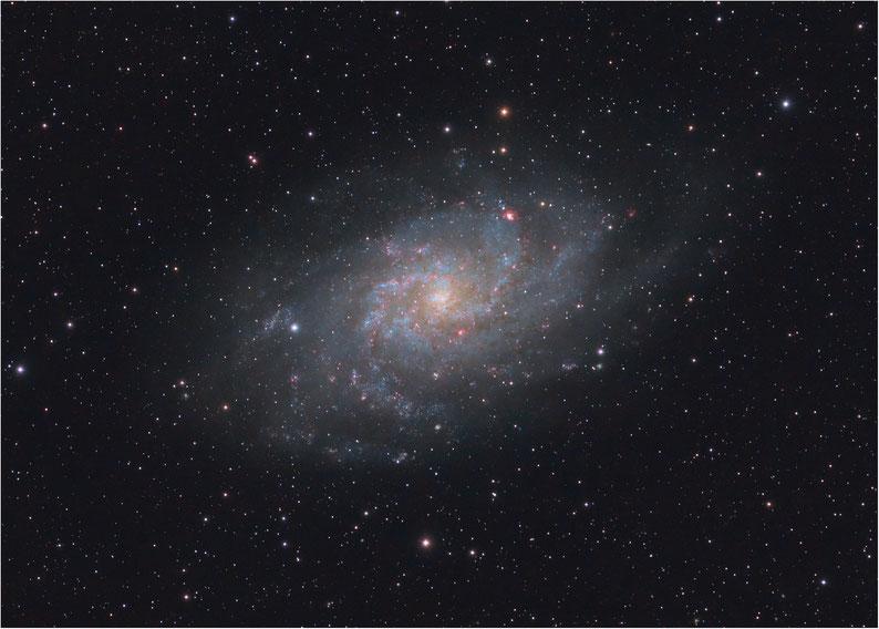 Bild: M33 Dreiecks-Galaxie Triangulum-Galaxie