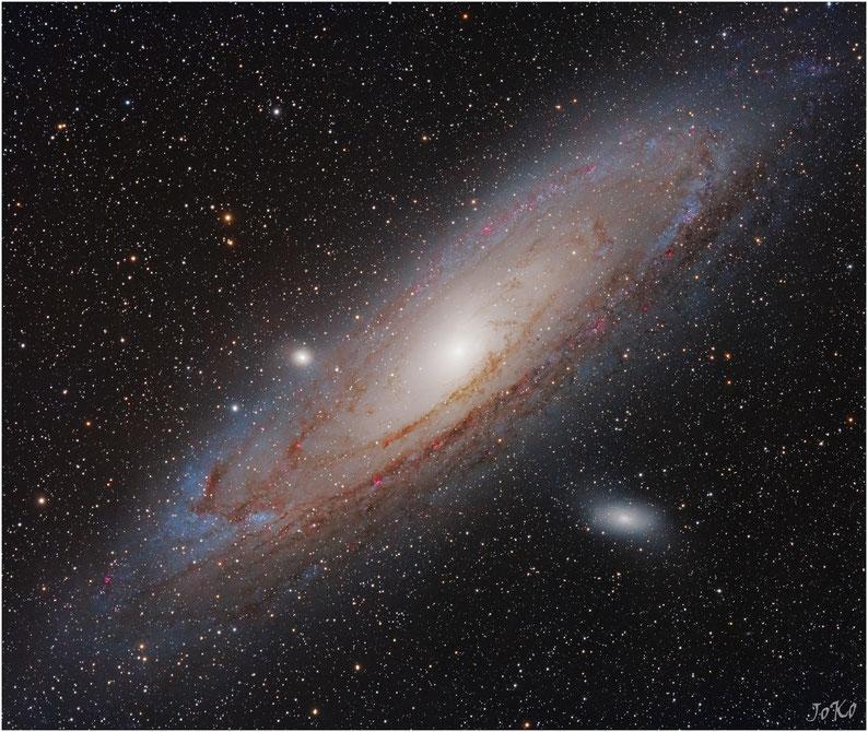 Bild: Andromeda Galaxie M31