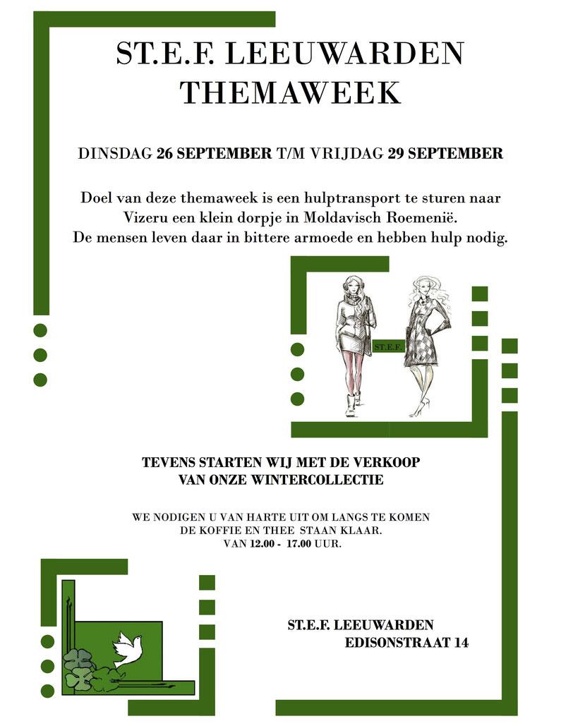 ST.E.F. Friesland Themaweek 2017