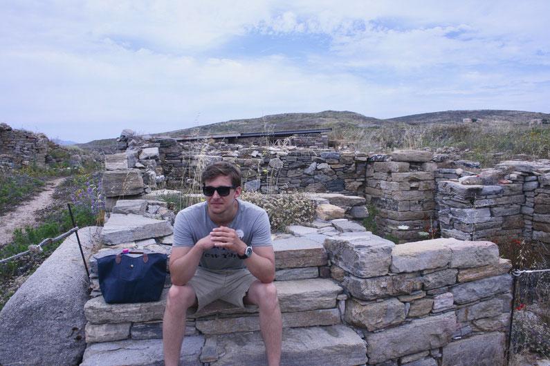 Travel Guide Delos UNESCO island ofpenguinsandelephants of penguins & elephants Greece