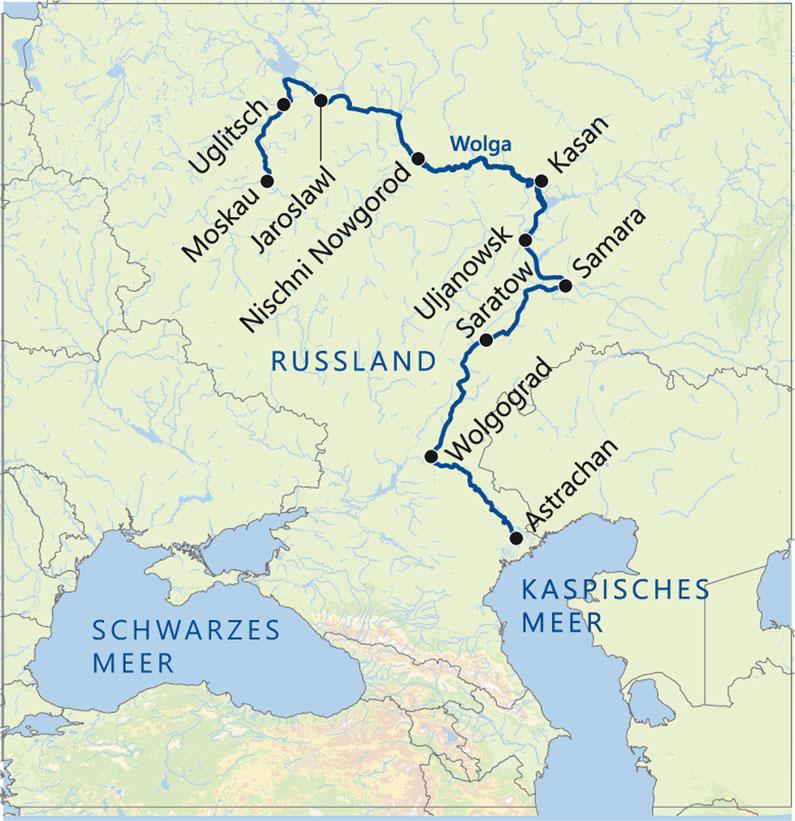 Schlacht Um Stalingrad Karte.Flussfahrt Auf Der Wolga 2018 Reisen Von Stefan Knörr Sniff