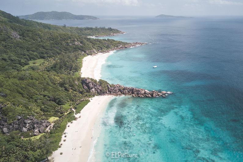 Seychellen, La Digue, Grand Anse, Petite Anse, Anse Coco