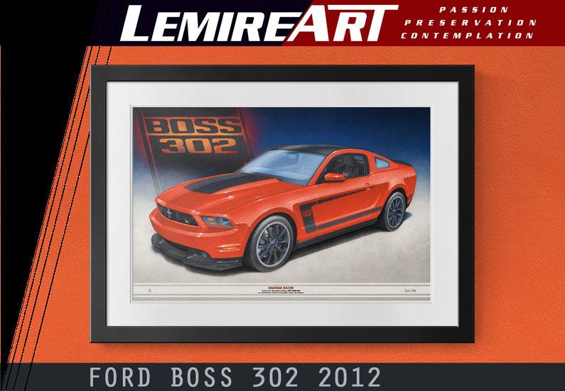 Dessin BOSS 302 2012